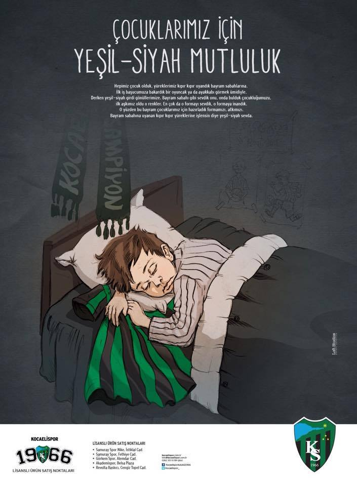 Final version of Kocaelispor's Poster Design by ertansertoz