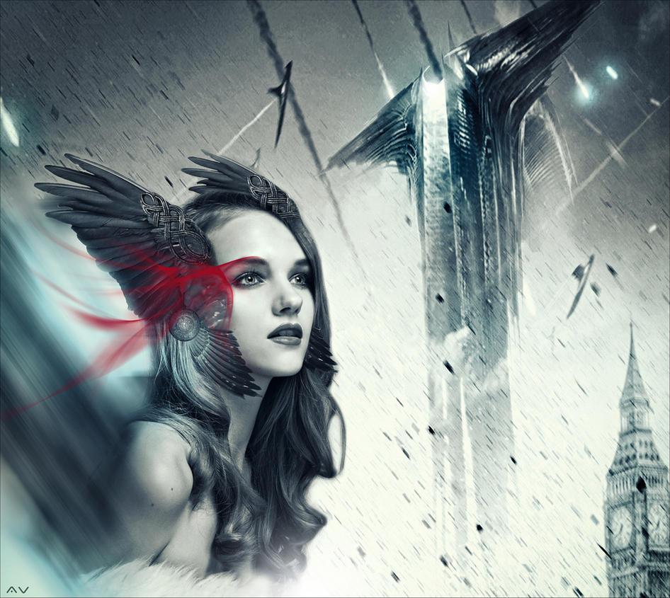 Goddess by Mr-Vin