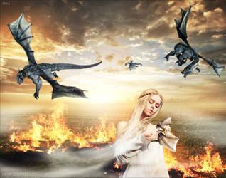 Daenerys Targaryen by Mr-Vin