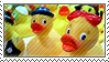 rubber ducks : stamp by ifyouplease