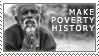 make poverty history : man by ifyouplease