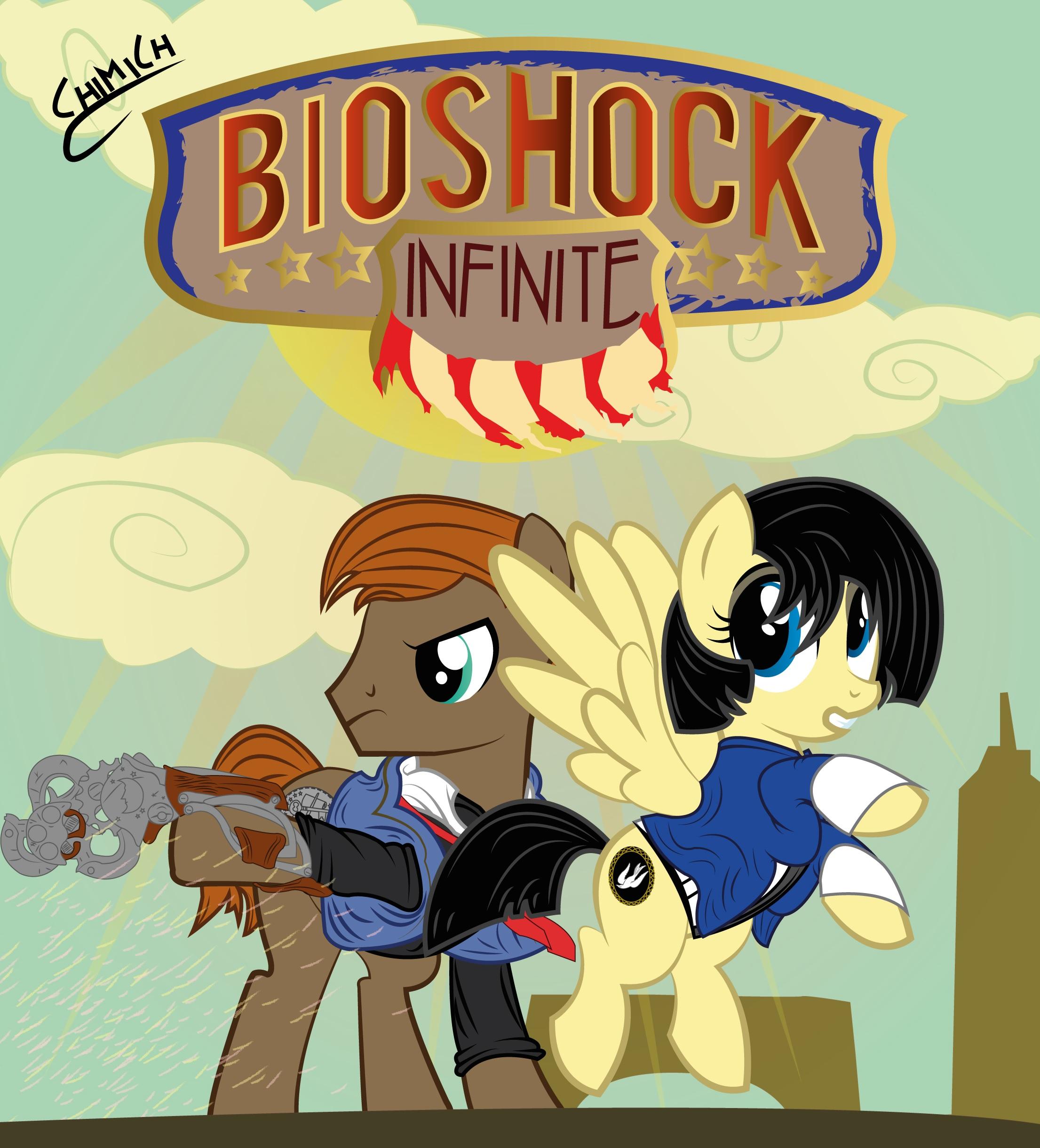 BioShock infinite MLP by chiimich