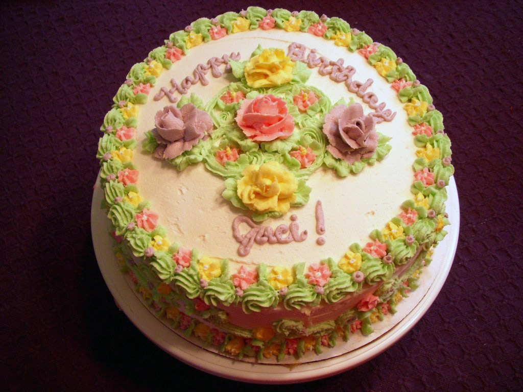Flower birthday cake by miko hanyou on deviantart flower birthday cake by miko hanyou izmirmasajfo