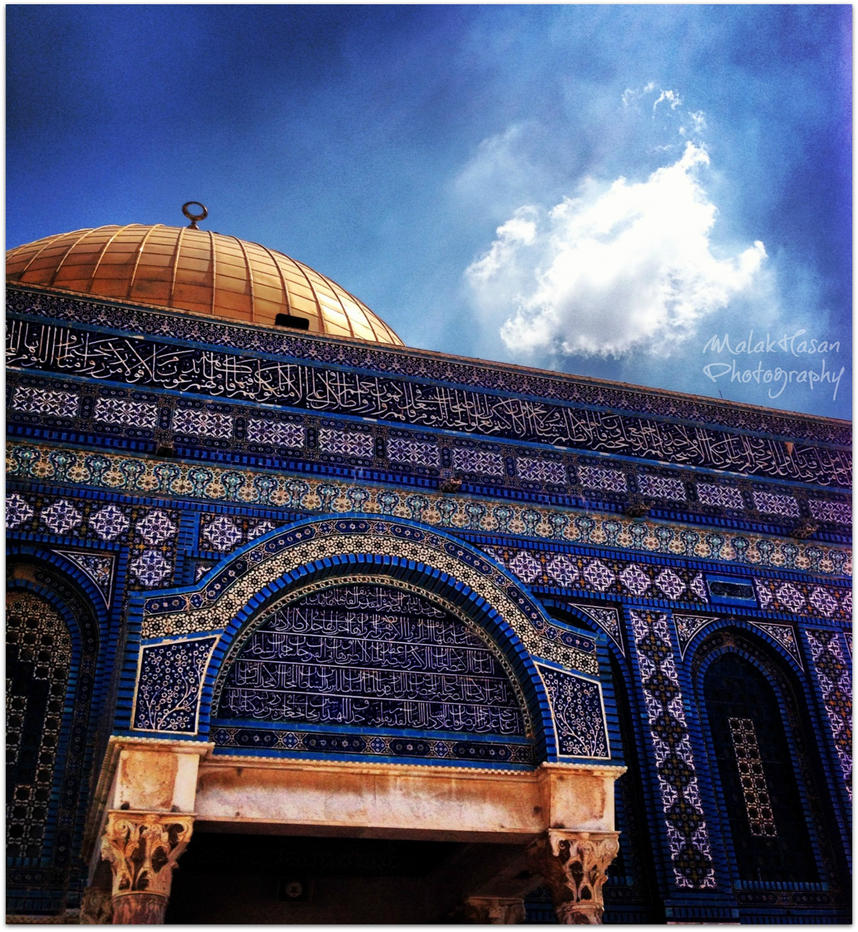 Dome of the Rock by nasahkalam