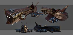 Spirit - Steampunk Flightcraft