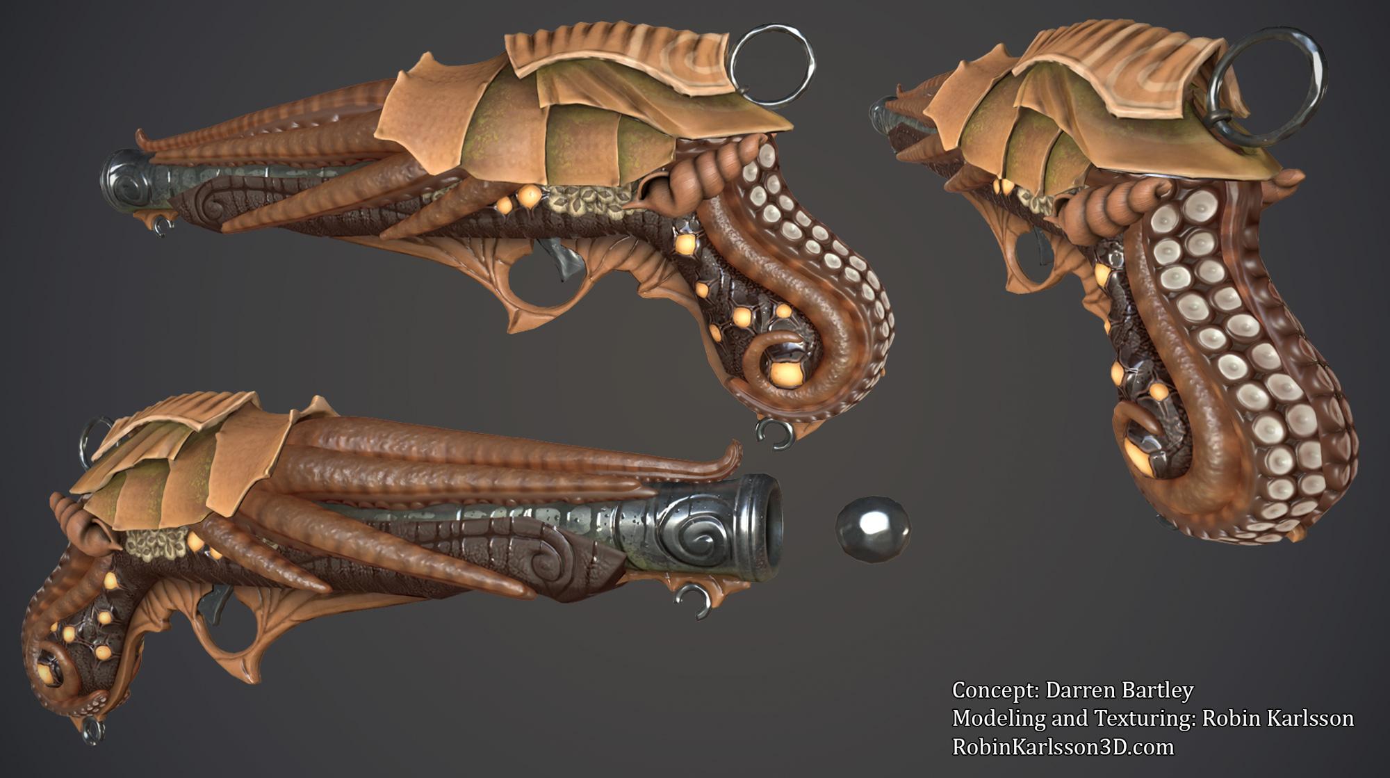 Tentacle Gun by Nosslak