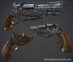 Flintlock Pistol by Nosslak