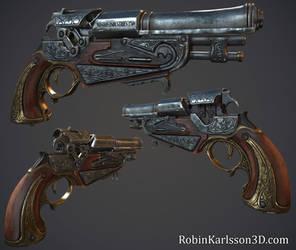 Flintlock Pistol by Nosslak