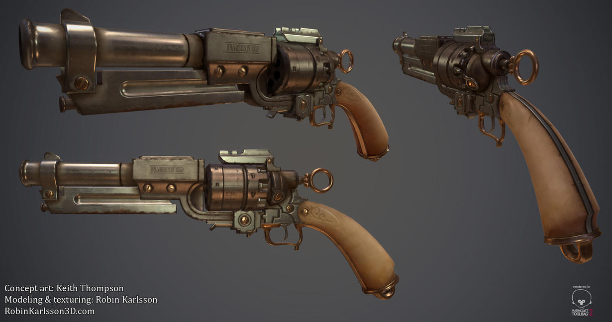 Firestorm - antique revolver by Nosslak