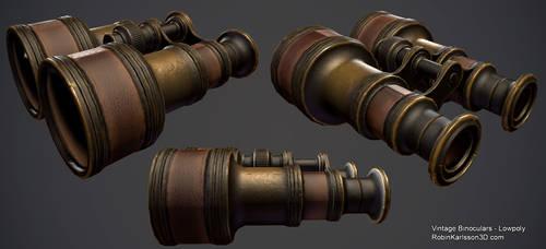 Vintage pair of binoculars by Nosslak