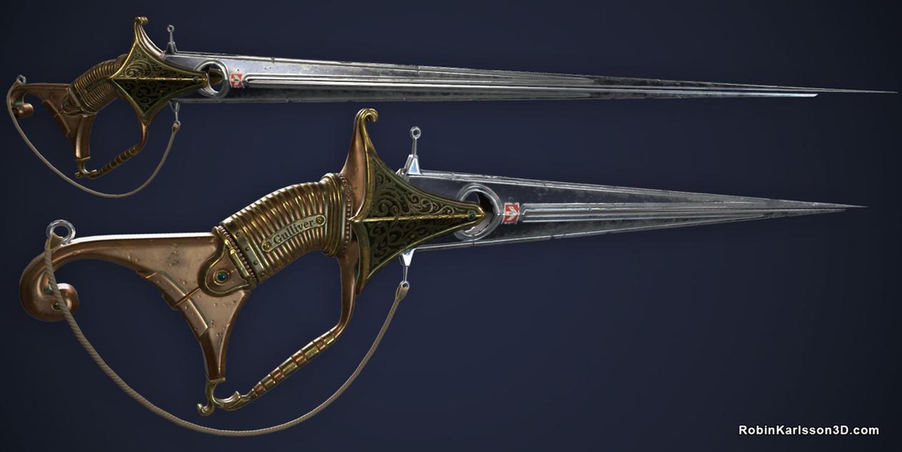 Gullivers Sword by Nosslak
