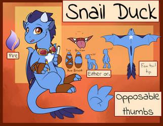 Persona ref sheet by Snail-Duck