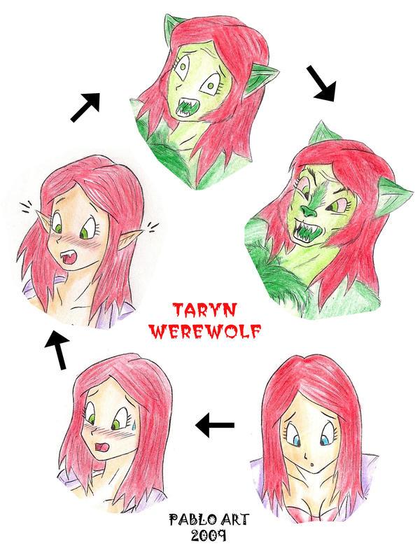TARYN WEREWOLF by locofuria