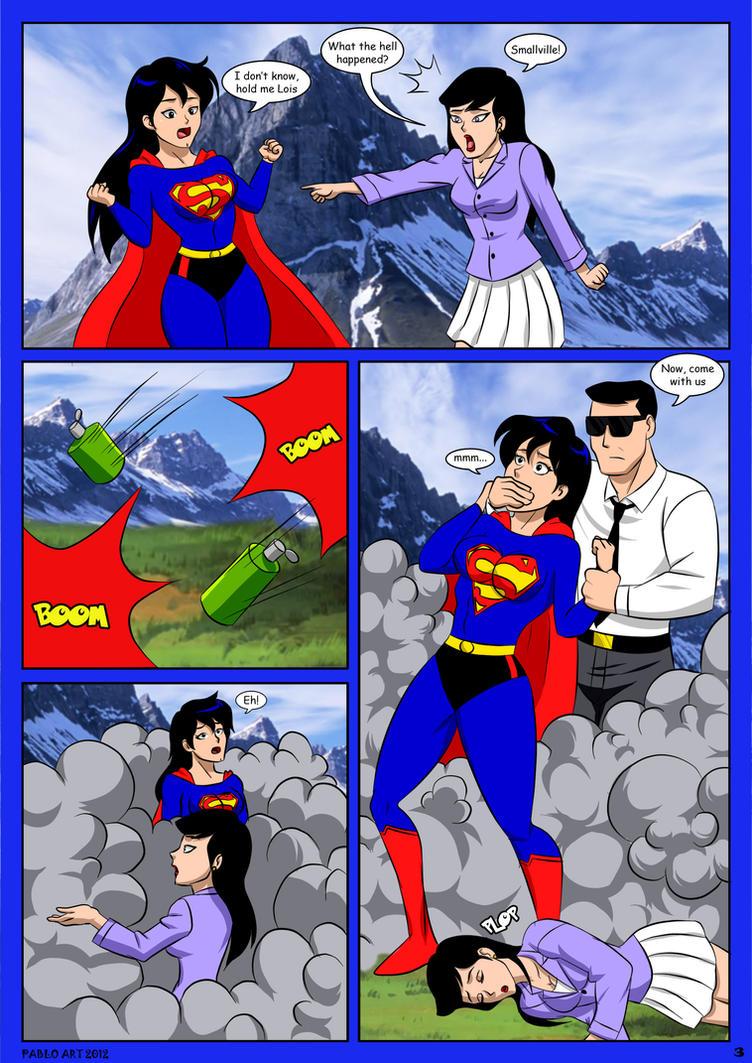 Brunette gohan vs superman lord that