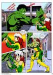 Rogue vs Hulk 09