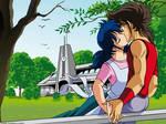 Miho x Seiya kiss