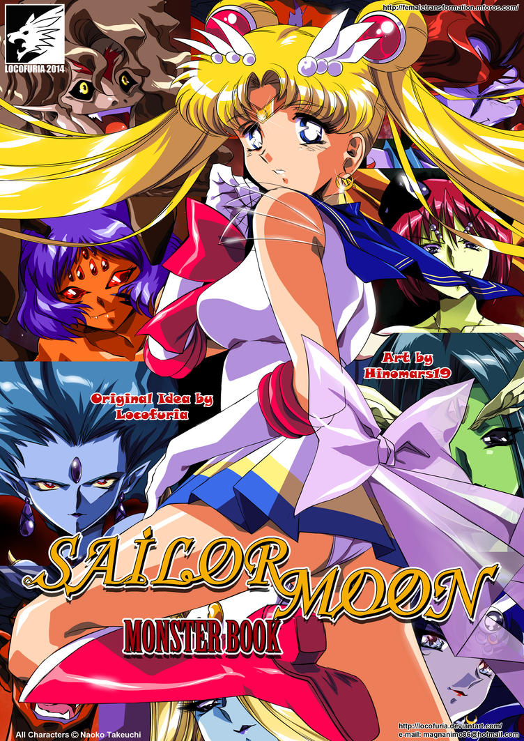 Sailor Moon Monster Book by locofuria
