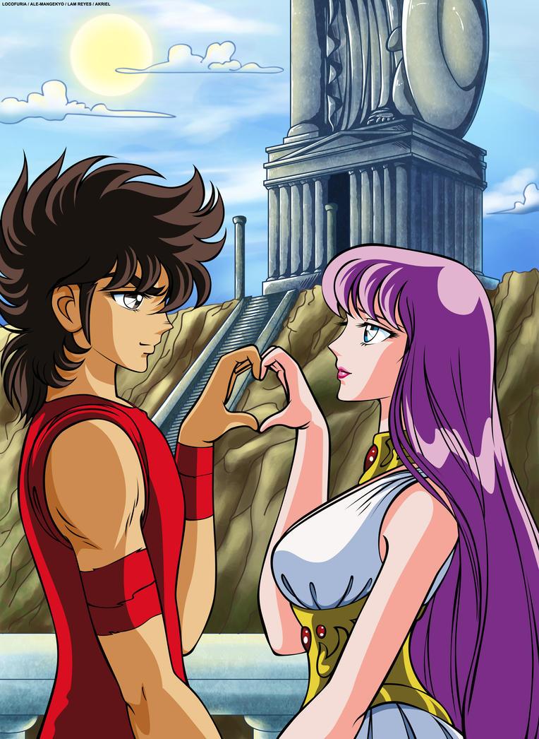 seiya and saori relationship