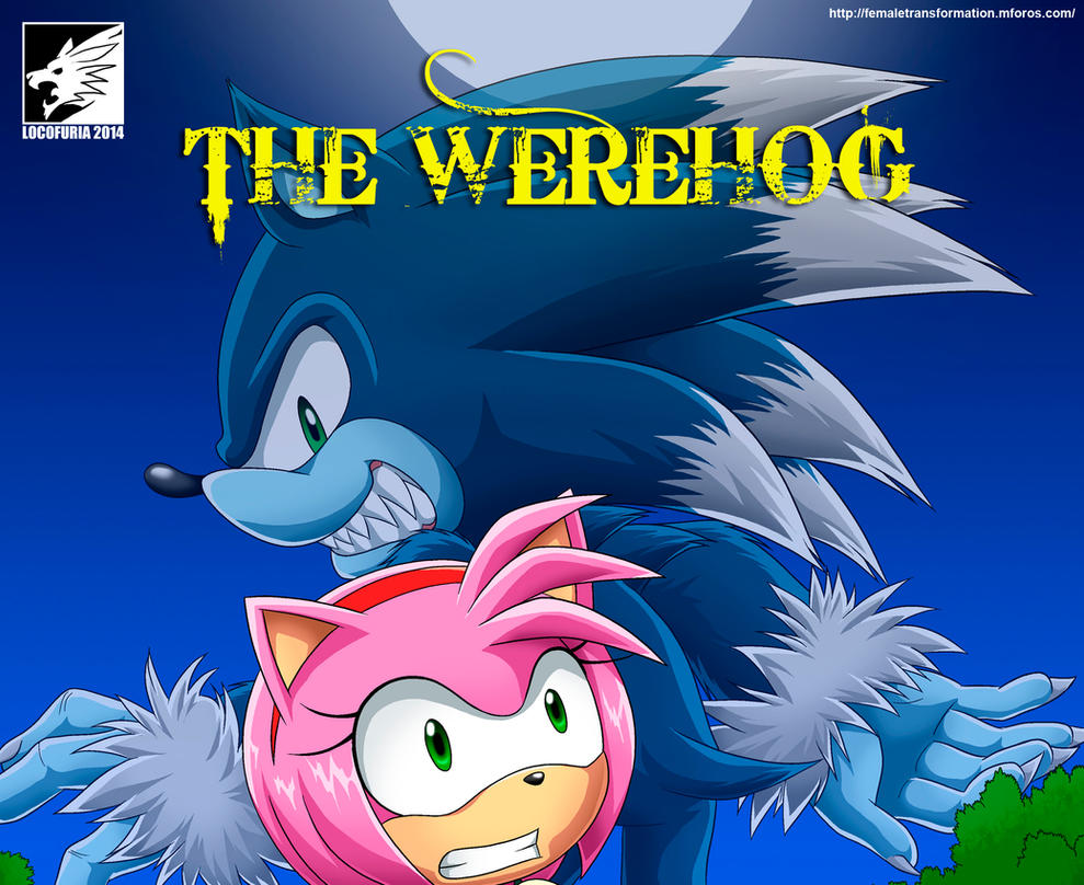The Werehog (censure cover) by locofuria
