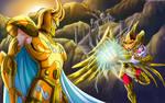 Aioros vs Shura
