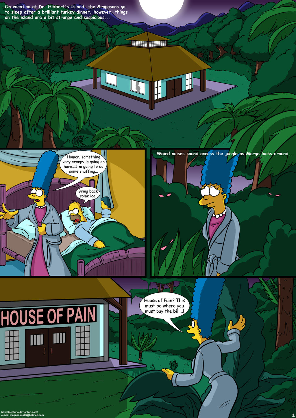Treehouse Of Horror 01 By Locofuria On Deviantart-8065