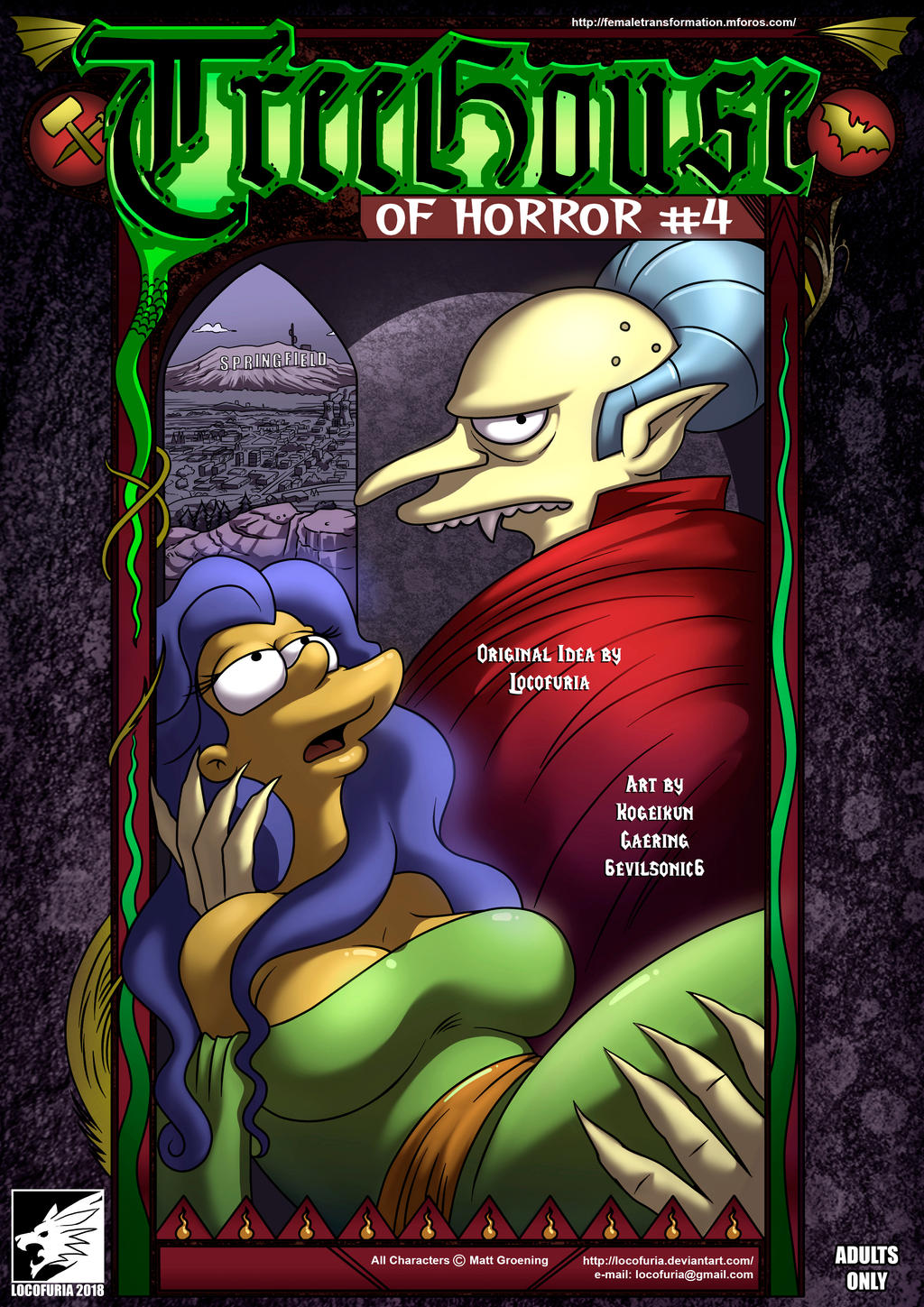 Simpsons Treehouse Of Horror 4 However, we managed to discover that the most significant portion of the traffic comes from usa (27,8%). simpsons treehouse of horror 4