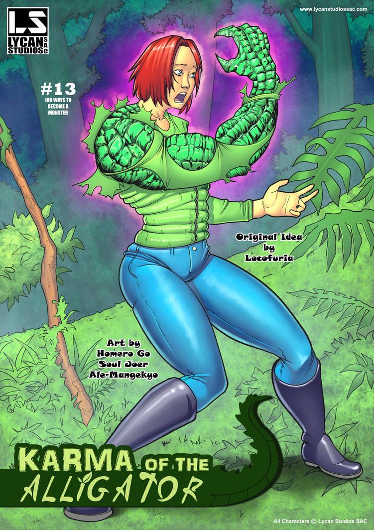 Karma of the Alligator #13 by locofuria