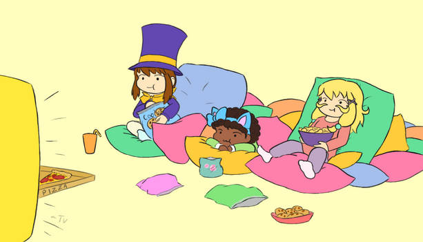A Hat in Time: Snacks time