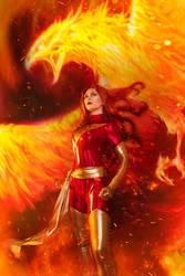 Jean Grey Dark Phoenix by KyrieFoxCosplay
