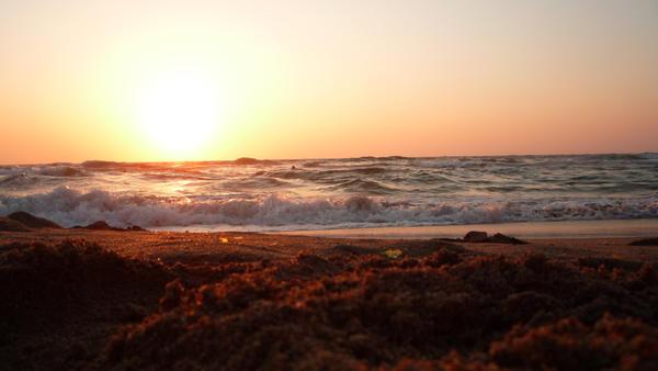 sunset by AhmedBakir