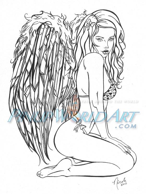 Angel by NicoleBrune