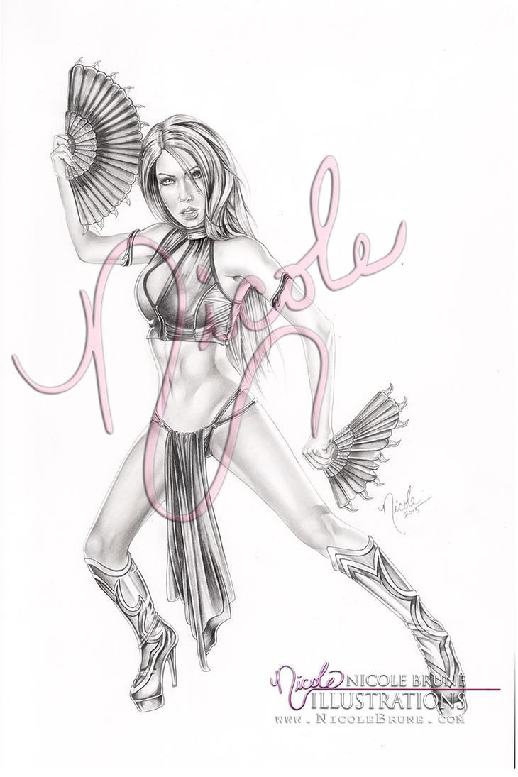 Kitana - Flawless Victory by NicoleBrune