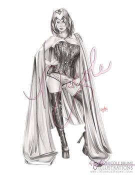 Scarlet Fever (black and white version)