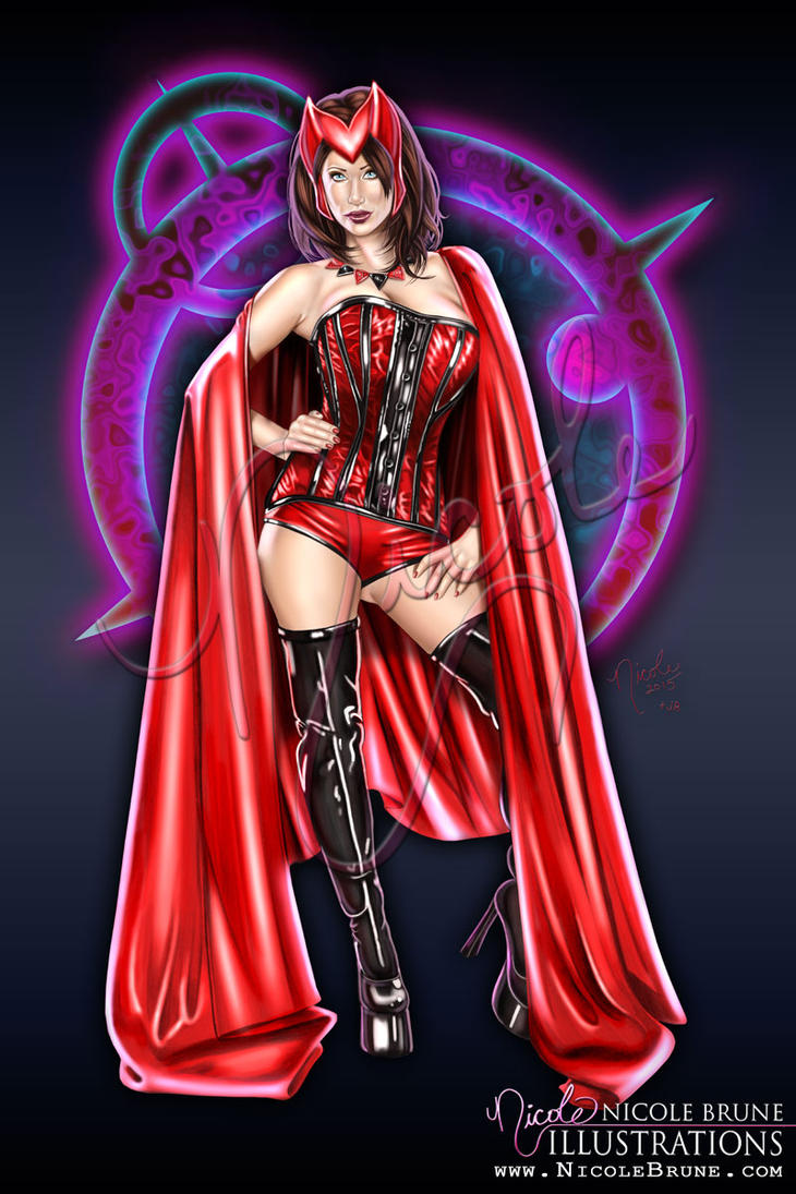 Scarlet Fever by NicoleBrune