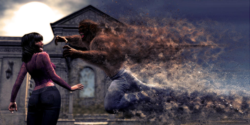 Werewolf Sandstorm by CitizenM