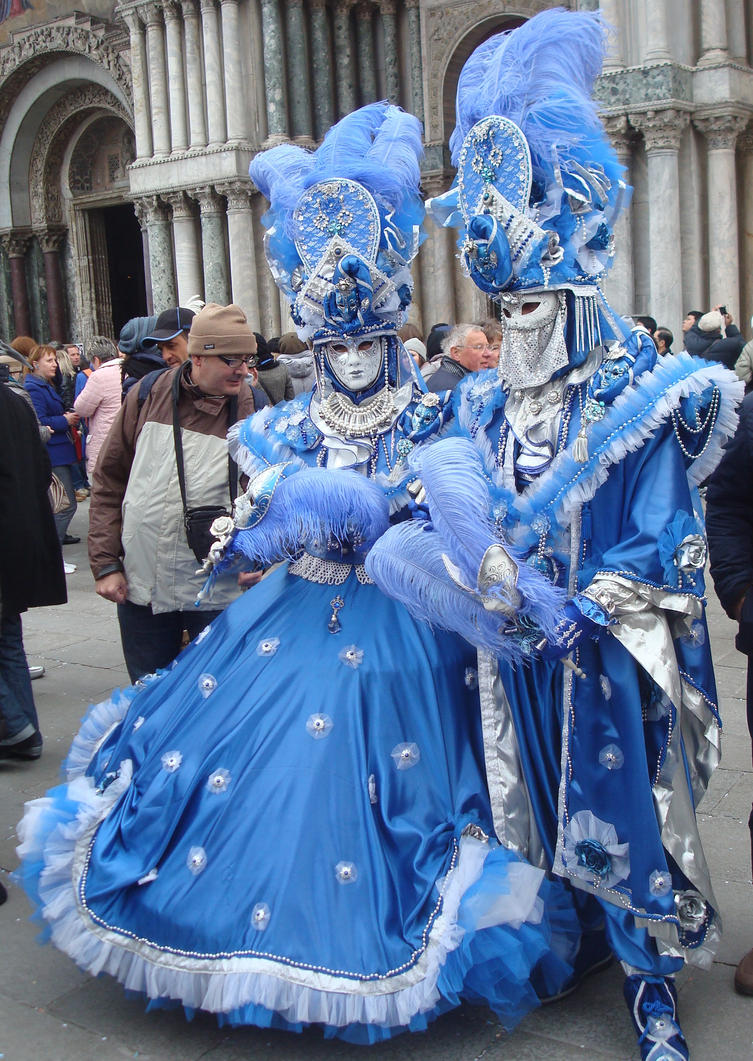 Carnival 2011 - Cyan and White by thejabawack