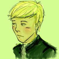 Thoughtful Draco
