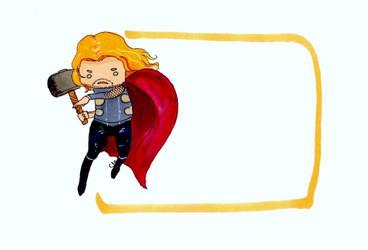 Thor note by WisesnailArt