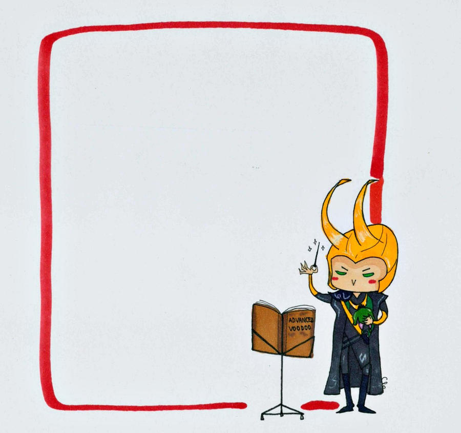 Loki Voodoo Note by Namecchan