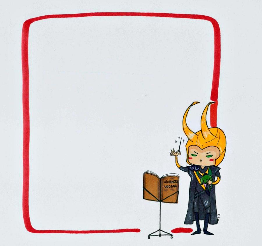 Loki Voodoo Note by WisesnailArt