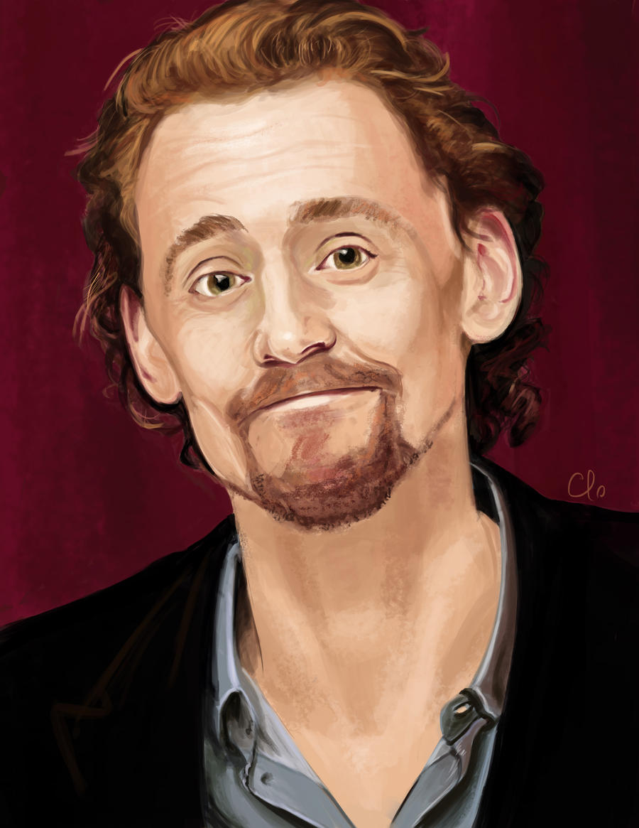 Tom Hiddleston_silly face 2 by Namecchan
