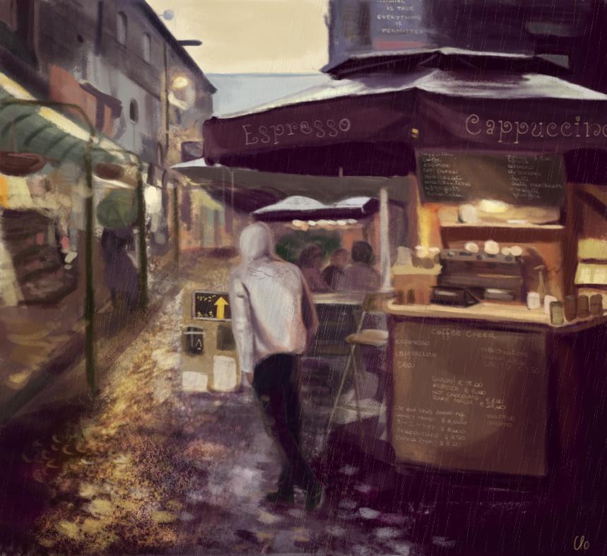 Wandering - Desmond by Namecchan