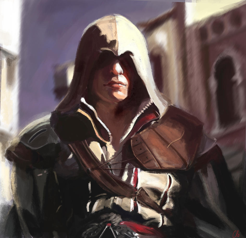 Ezio Auditore in Venice by Namecchan