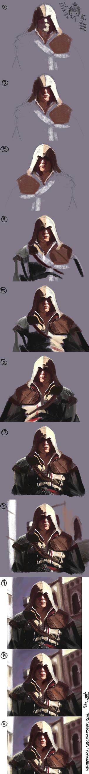 Ezio in Venice TUTORIAL by Namecchan