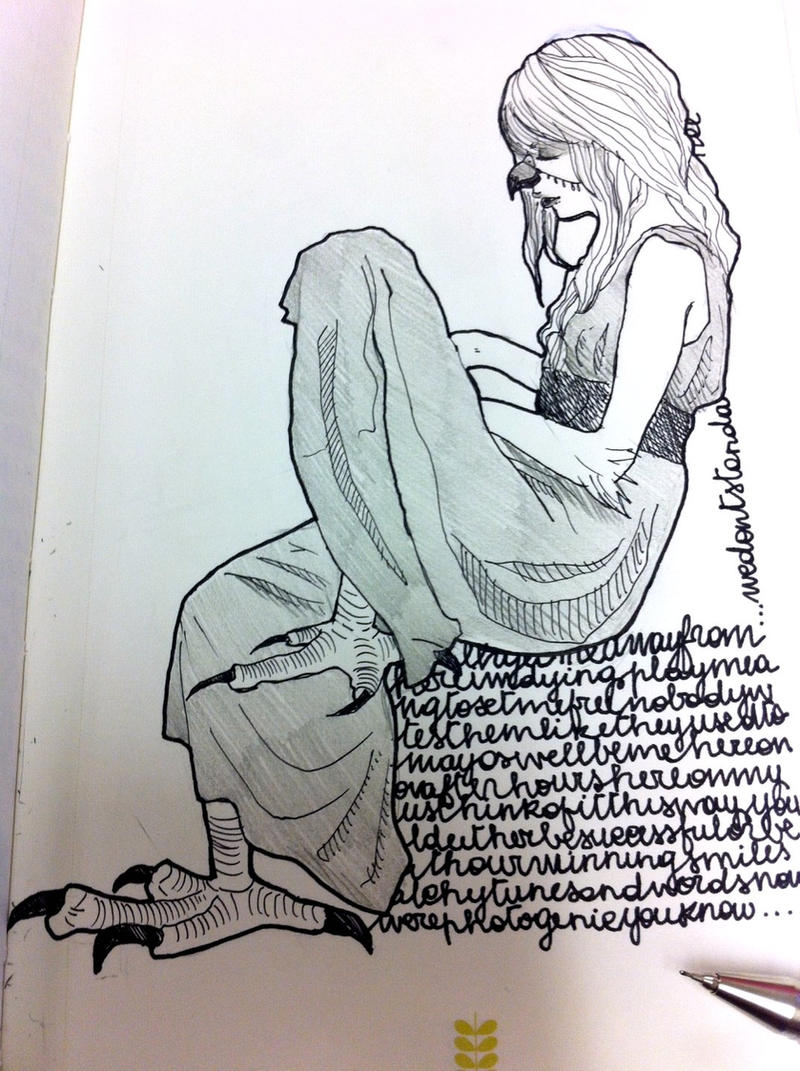 Hawk girl by Namecchan