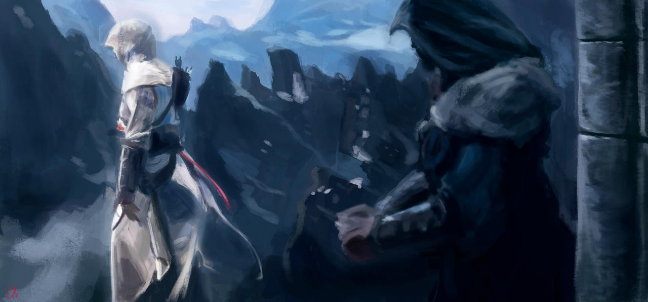 Altair-Ezio_Revelations by Namecchan