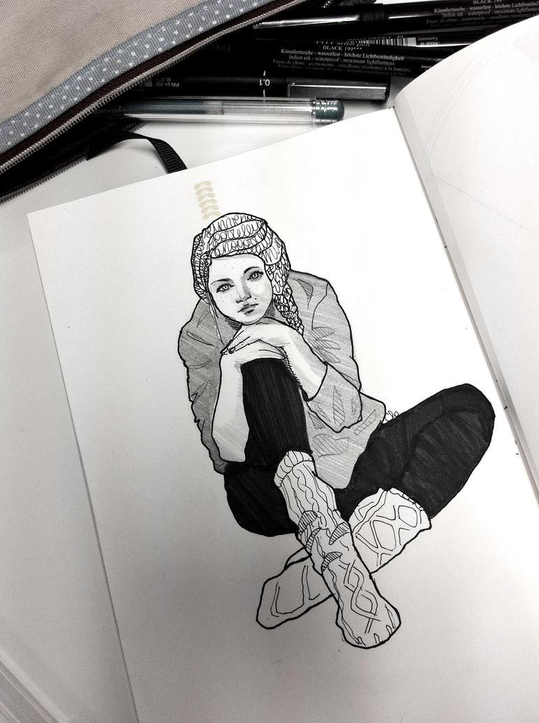 Ultranoia_Break Sketch by Namecchan