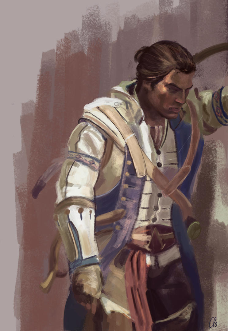 Connor Kenway study by Namecchan
