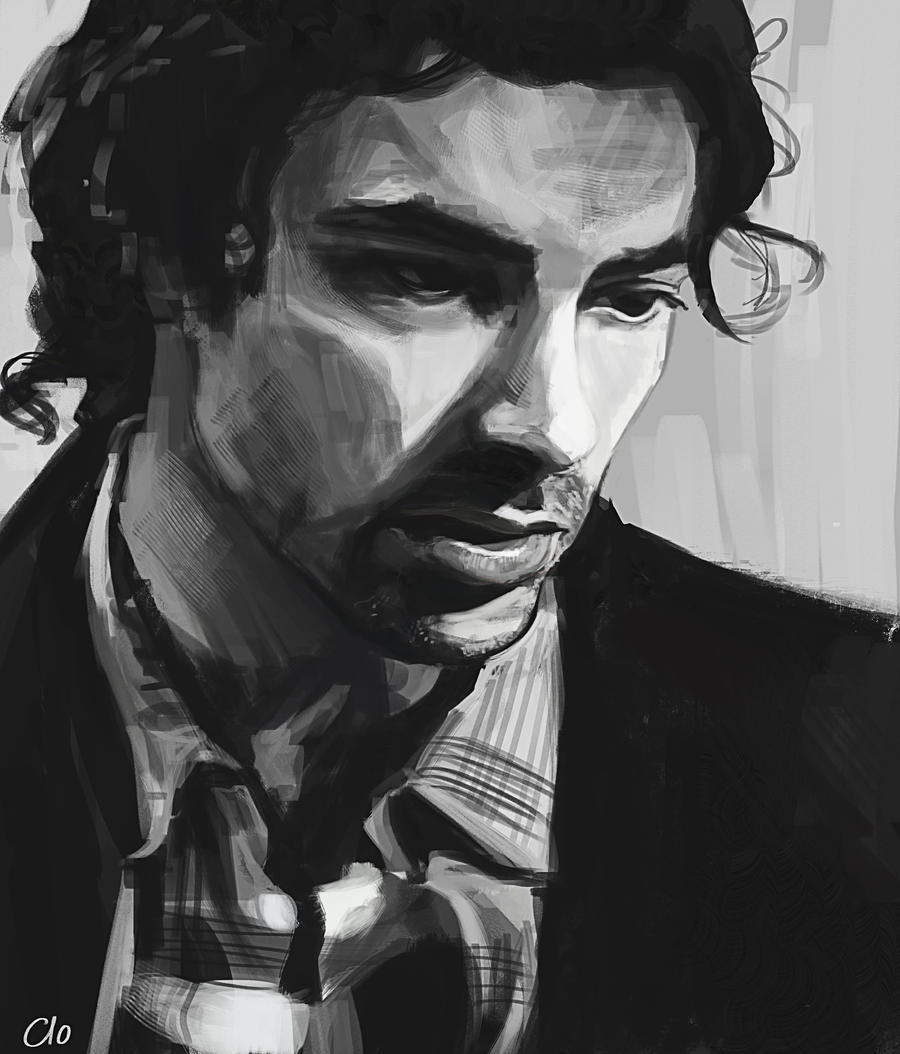 Aidan Turner evening practice by Namecchan