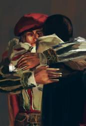 Bro hug by WisesnailArt